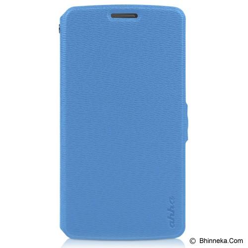 AHHA Leather Case Reily Flip Case LG G3 - Blue (Merchant) - Casing Handphone / Case