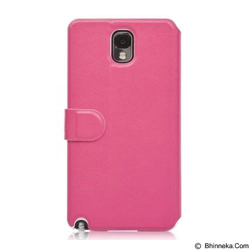 AHHA Leather Case Samsung Galaxy Note 3 Flip Arias Magic - Fucshia (Merchant) - Casing Handphone / Case
