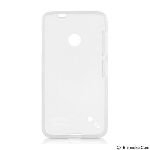 AHHA Moya Gummishell Case for Nokia Lumia 530 [A-GSNK530-0M00] - Transparent - Casing Handphone / Case