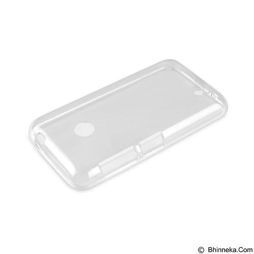 AHHA Moya Gummishell Clear Case for Nokia Lumia 530 - White (Merchant) - Casing Handphone / Case