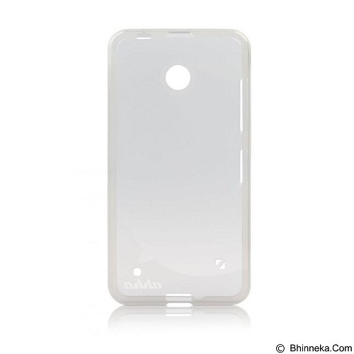 AHHA Moya Gummishell Nokia Lumia 630 Tinted Soft Case [A-GSNK630-0M02] - White - Casing Handphone / Case