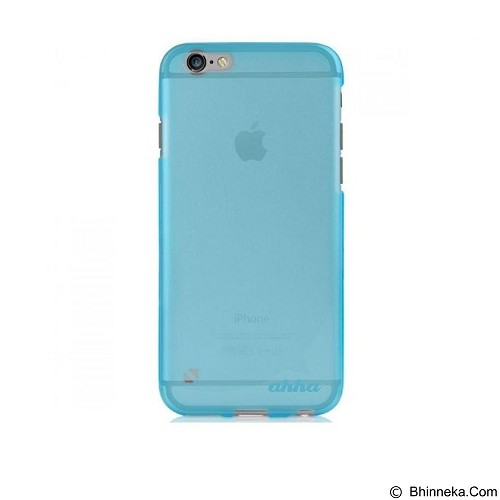 AHHA Moya Gummishell Soft Case iPhone 6 Plus - Tinted Blue - Casing Handphone / Case