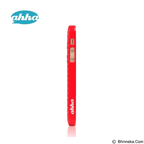 AHHA Mozie Grid Case iPhone 5/5s [A-GCIH5-0M09] - Mars Red (Merchant) - Casing Handphone / Case