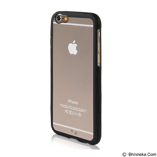 AHHA Poza Flexi Case iPhone 6 Clea-Solid [A-HDIH647-FPY1] - Black (Merchant) - Casing Handphone / Case