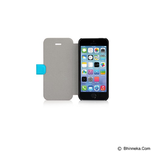 AHHA Saba Magic Stand Casing for iPhone 5 or 5S - Blue (Merchant) - Casing Handphone / Case