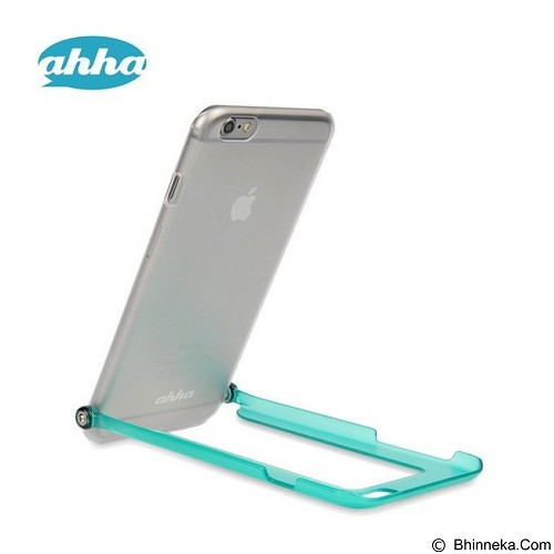 AHHA Snapshot Selfie Casing for iPhone 6 Plus - Clear Turquoise (Merchant) - Casing Handphone / Case