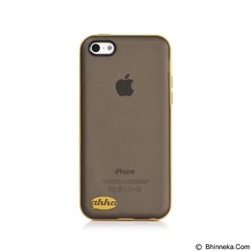 AHHA Soft Case for Apple iPhone 5C Lulla Tonemix [A-SCIHM-TL1E] - Black Yellow - Casing Handphone / Case