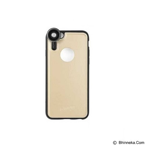 AHHA Softcase Golenon Photo Kit Casing for Apple iPhone 6s with 4 Lensa Party - Cham Gold (Merchant) - Casing Handphone / Case