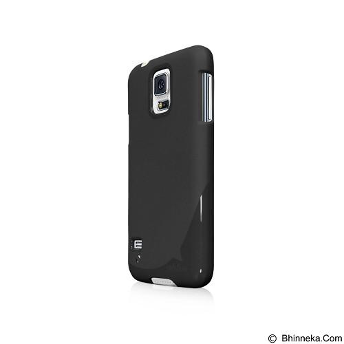 AHHA Sturdyflex Semi Hardcase Casing for Samsung Galaxy S5 - Black (Merchant) - Casing Handphone / Case