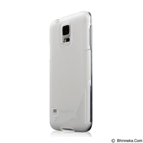AHHA Sturdyflex Semi Hardcase Casing for Samsung Galaxy S5 - White White (Merchant) - Casing Handphone / Case