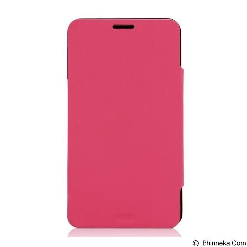 AHHA Wallin Leather Case Samsung Galaxy Note 3 Flip Case - Yogurt Pink - Casing Handphone / Case