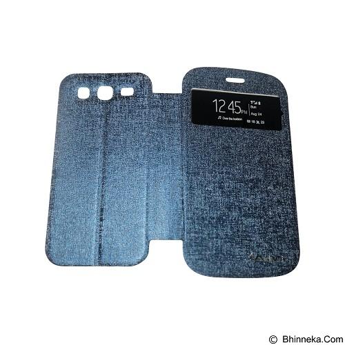 AIMI Flip Cover Fitur View for Samsung Galaxy Grand i9082 - Dark Blue (Merchant) - Casing Handphone / Case