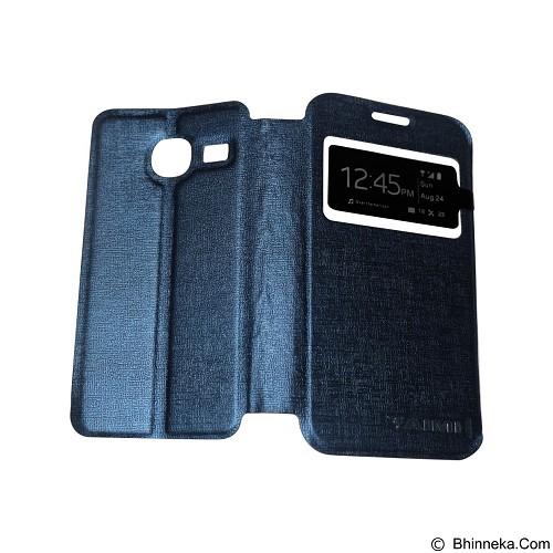 AIMI Flip Cover Fitur View for Samsung Galaxy J1 Mini - Dark Blue (Merchant) - Casing Handphone / Case