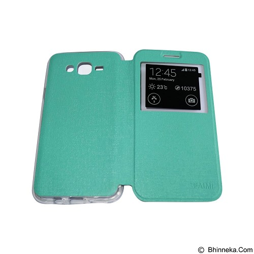 AIMI Flip Cover Fitur View for Samsung Galaxy J700 - Tosca (Merchant) - Casing Handphone / Case