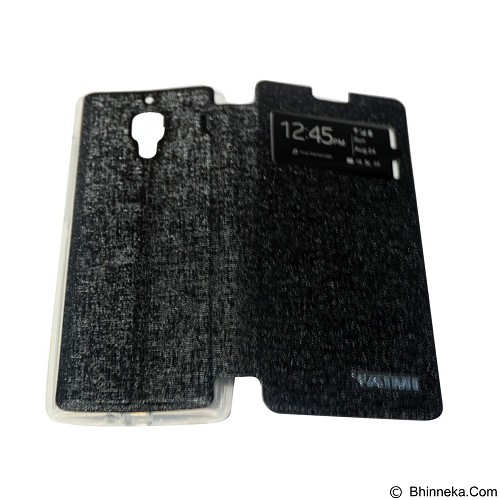 AIMI Flip Cover Fitur View for Xiaomi Redmi 1S - Black (Merchant) - Casing Handphone / Case