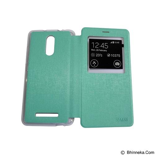 AIMI Flip Cover Fitur View for Xiaomi Redmi Note 3 - Tosca (Merchant) - Casing Handphone / Case
