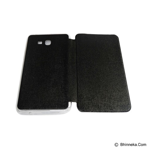 AIMI Flip Cover Fitur for Samsung Galaxy Tab 3 V 7inch T116 or T110 - Black (Merchant) - Casing Tablet / Case