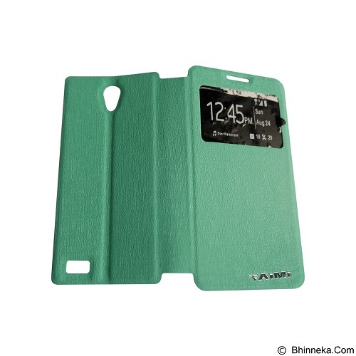 AIMI Flipcover Fitur View for Oppo Joy3 A11W - Tosca (Merchant) - Casing Handphone / Case