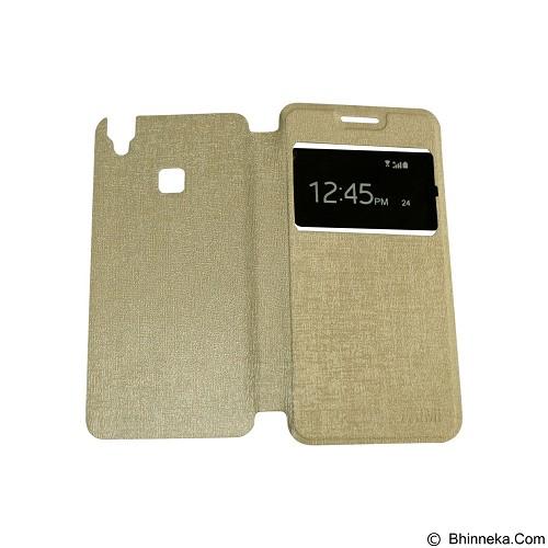 AIMI Flipcover Fitur View for Vivo V3 Max - Gold (Merchant) - Casing Handphone / Case