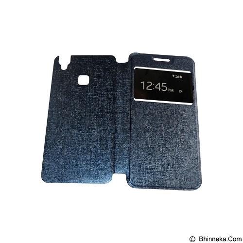 AIMI Flipcover Fitur View for Vivo V3 - Dark Blue (Merchant) - Casing Handphone / Case