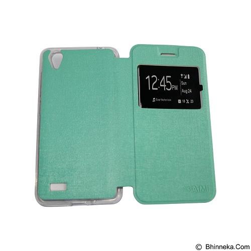 AIMI Flipcover Fitur View for Vivo Y31 - Tosca (Merchant) - Casing Handphone / Case