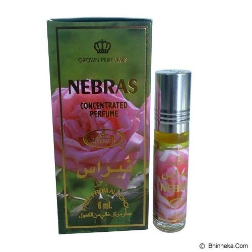 AL REHAB Nebras 6Pcs - Eau De Toilette untuk Pria