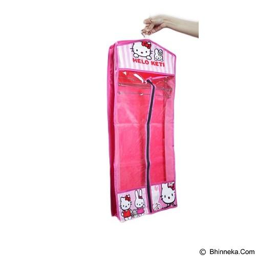 ALBERTA Hanger Jilbab / Kerudung Motif Hello Kitty [RSP 0005] - Pink (Merchant) - Gantungan Dasi / Syal / Jilbab