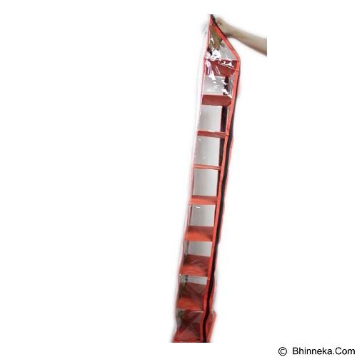 ALBERTA Rak Sepatu Gantung 9 Susun Motif Animal [RSP 0003] - Orange (Merchant) - Rak Tas