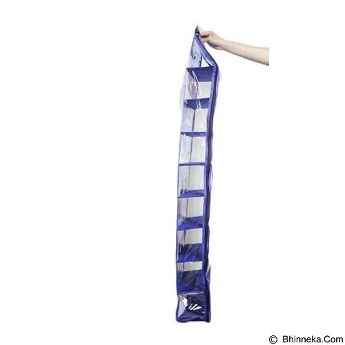 ALBERTA Rak Sepatu Gantung 9 Susun Motif Frozen [RSP 0003] - Blue (Merchant) - Rak Tas