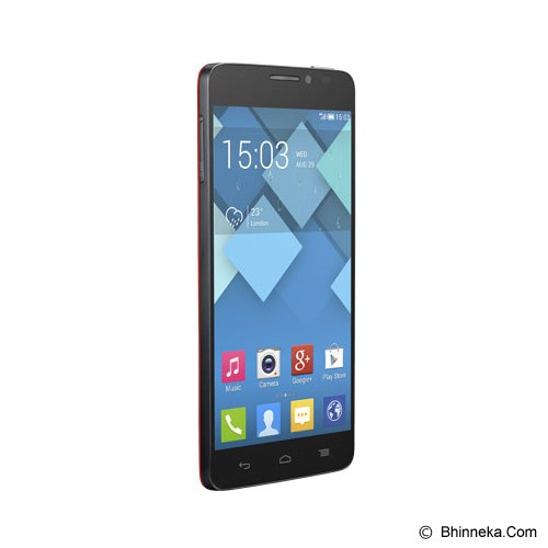 ALCATEL Idol X - Red - Smart Phone Android