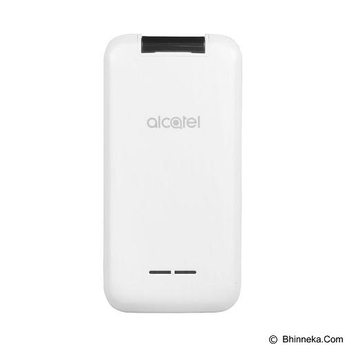 ALCATEL Onetouch 2051D  - Pure White (Merchant) - Handphone Gsm