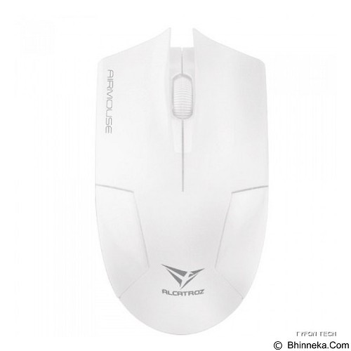 ALCATROZ Airmouse Gaming Mouse - White - Gaming Mouse