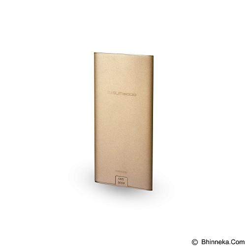 ALCATROZ Tzla Slim 5000mAh - Gold - Portable Charger / Power Bank