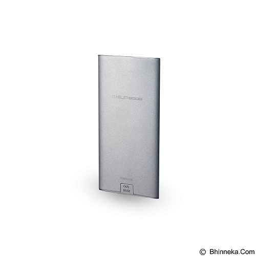 ALCATROZ Tzla Slim 5000mAh - Silver - Portable Charger / Power Bank