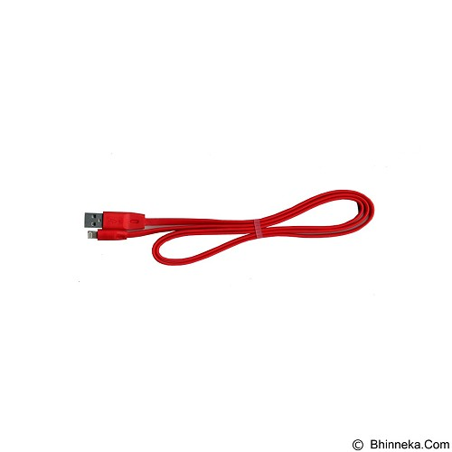 ALFALINK Full Speed Lighting Cable 100cm - Red (Merchant) - Cable / Connector Usb