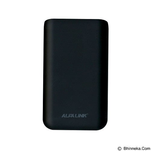 ALFALINK Powerbank 10000mAh [AP-10000RQ] - Black (Merchant) - Portable Charger / Power Bank