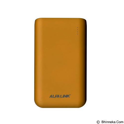 ALFALINK Powerbank 10000mAh [AP-10000RQ] - Orange (Merchant) - Portable Charger / Power Bank