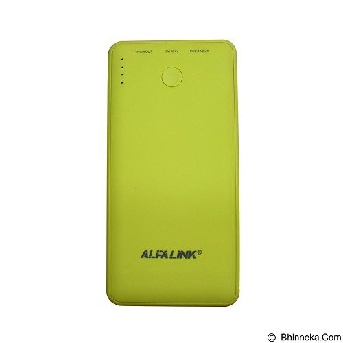 ALFALINK Powerbank 6000mAh [AP-6000R] - Portable Charger / Power Bank