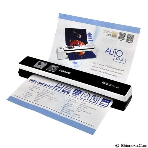 ALFALINK Scanner Auto Feed [As-1214] (Merchant) - Scanner Portable