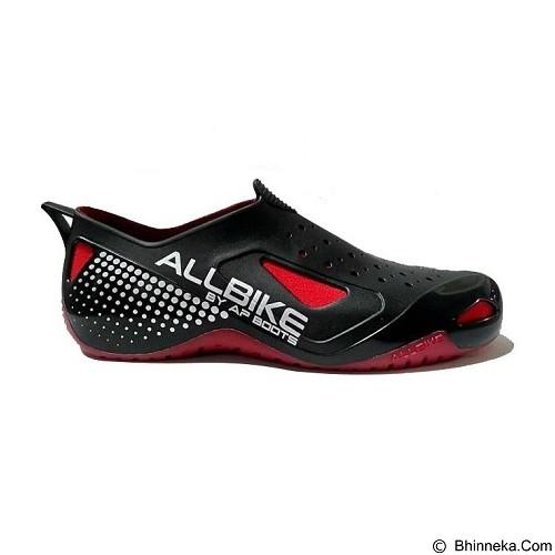 ALL BIKE AP Boots Size 41 - Black Red (Merchant) - Sepatu Hiking & Trail Running Pria