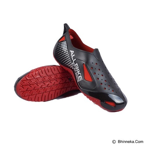 ALL BIKE AP Boots Size 43 - Black Red (Merchant) - Sepatu Hiking & Trail Running Pria