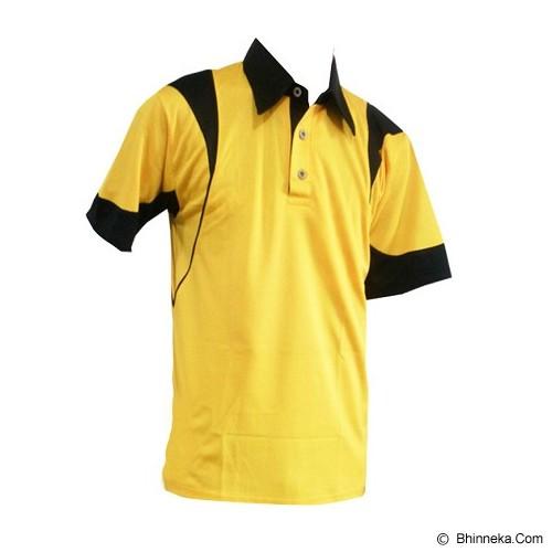 ALL SPORT Baju Olahraga Size L [TN 006 KH] - Kuning/Hitam - Polo Pria