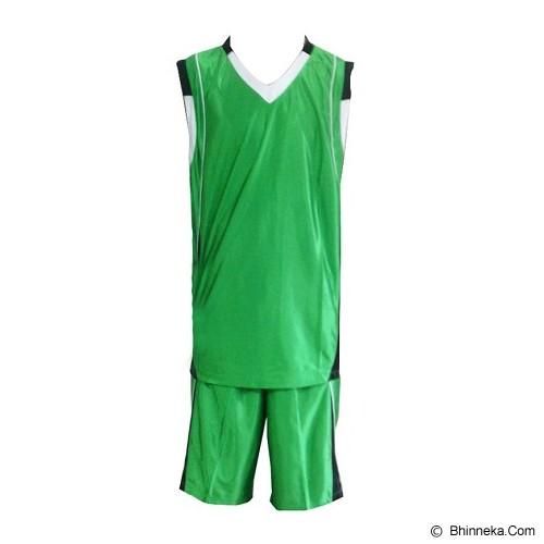 ALL SPORT Baju Setelan Olahraga Basket Size M [BA 012 IH] - Hijau/Hitam - BAJU SETELAN PRIA
