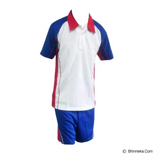 ALL SPORT Baju Setelan Olahraga Size L [BD 005 PM] - Merah/Biru/Putih - BAJU SETELAN PRIA