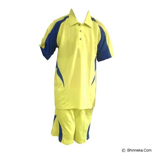 ALL SPORT Baju Setelan Olahraga Size L [TM 007 KB] - Kuning - Baju Setelan Pria