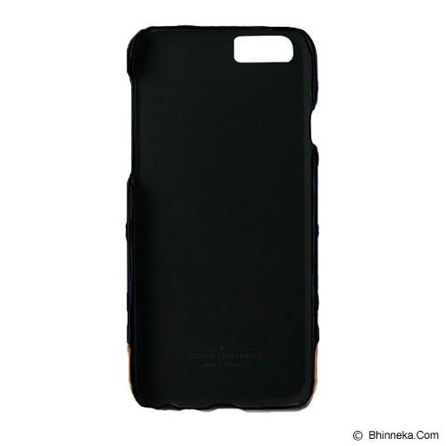 ALTO Leather Case Denim for iPhone 6 - Navy Bubble - Casing Handphone / Case