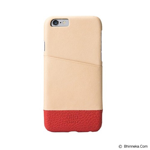ALTO Leather Case Metro for iPhone 6 - Original/Red - Casing Handphone / Case