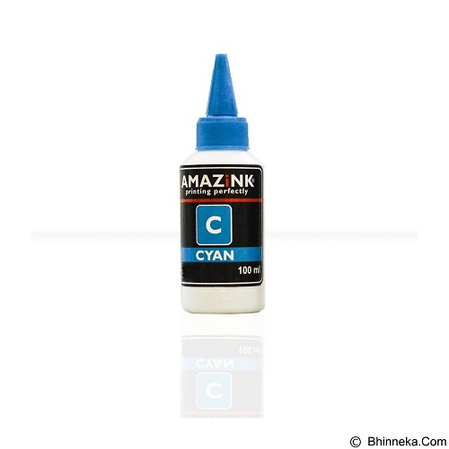 AMAZiNK Tinta Printer HP Cyan 100 ml (Merchant) - Tinta Printer Lainnya