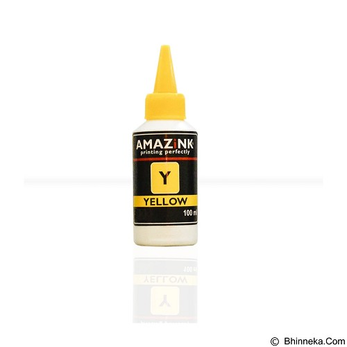 AMAZiNK Tinta Printer HP Yellow 100 ml (Merchant) - Tinta Printer Lainnya