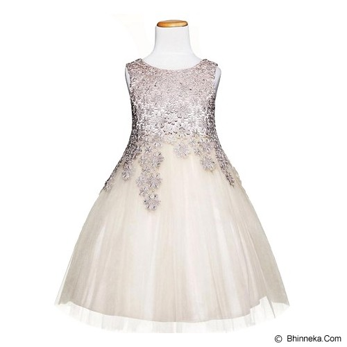 AMBER BERRY Amber Berry Dress Champagne Size 11 - Dress Bepergian/Pesta Bayi dan Anak